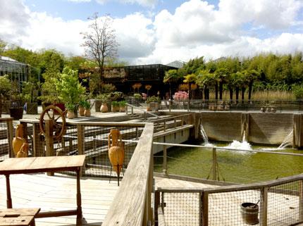 Angers(アンジェ)の植物をテーマにした遊園地